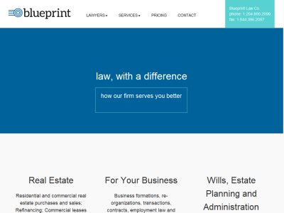 Blueprint law canadalegal blueprint law is a law firm in winnipeg manitoba practice areas real estate litigationdispute resolution employment law construction law malvernweather Images